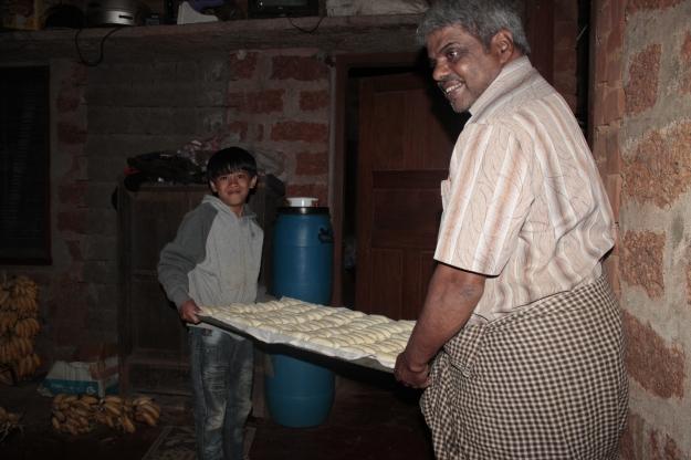 to dry to make 'banana fig'.